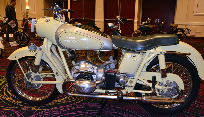 Douglas Dragonfly Motorcycle