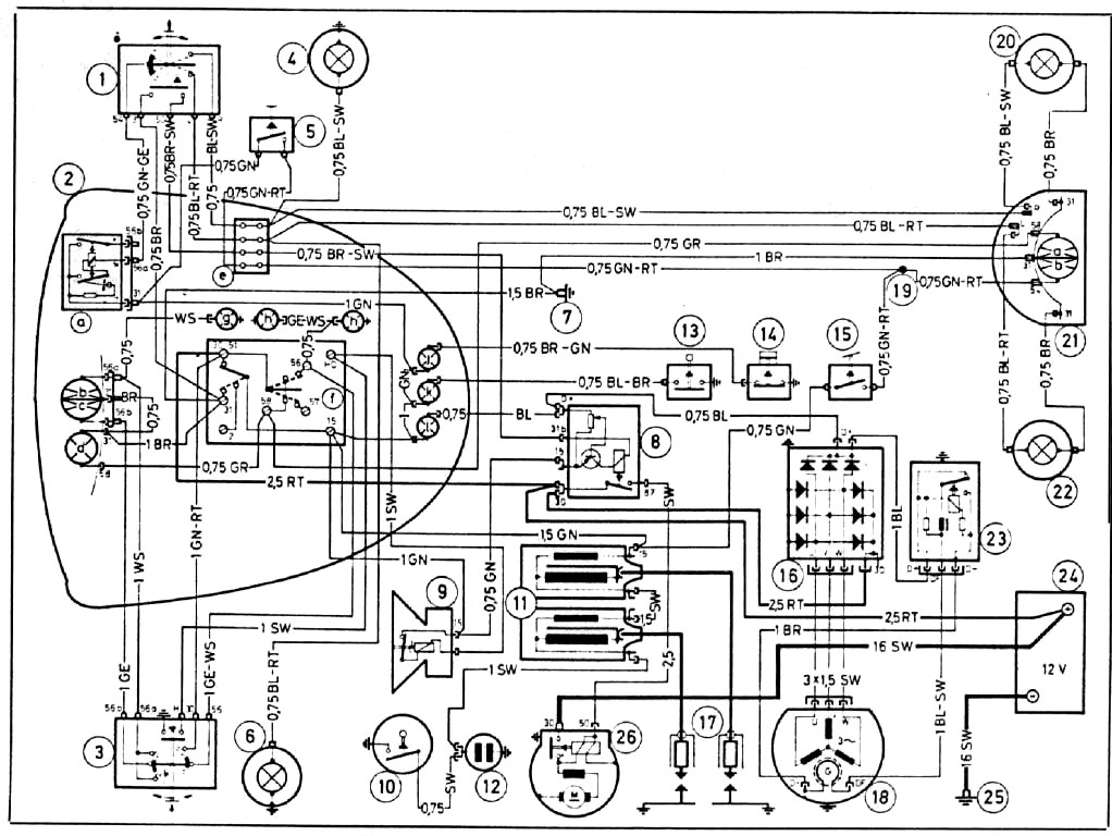 bmw om wiring r75 5 technical data bmw r75/5 wiring diagram at gsmx.co