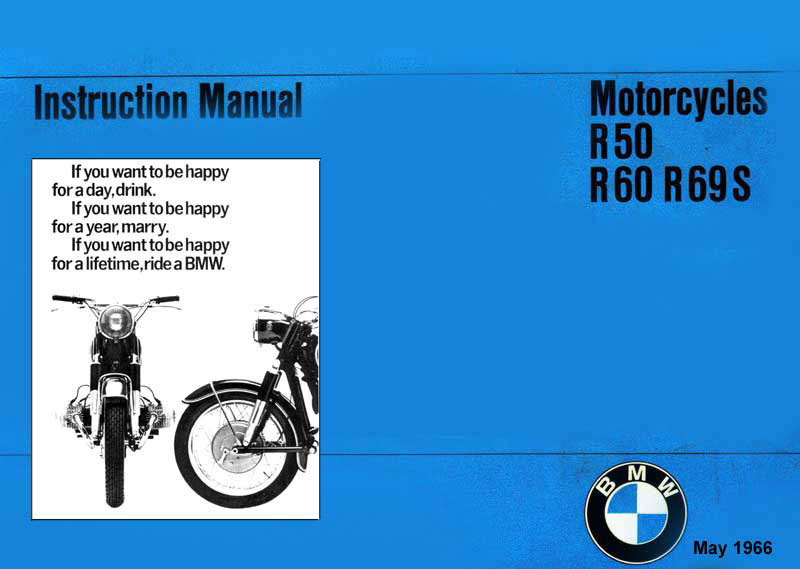 1966 BMW Owners Manual