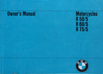 Owners Manual Bmw R60 5 - Schematics Wiring Diagrams •