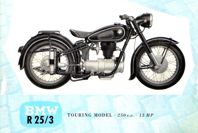 1954    BMW       R25   3