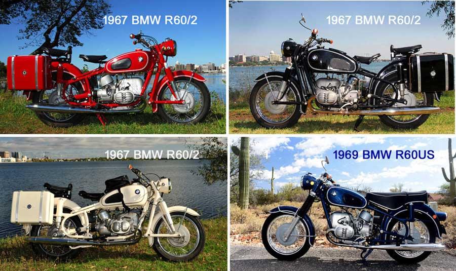 BMW R50/2, R50US, R60/2, R60US, R69S, R69US Motorcycles