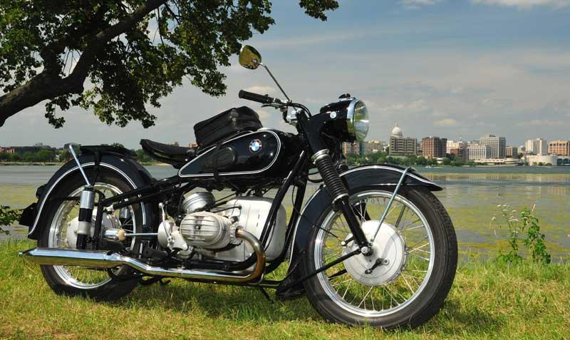 R on Bmw Motorcycle Airhead Engine