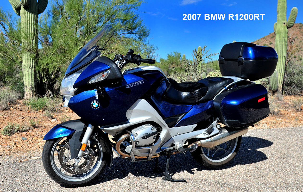 So my answer to your question is yes to the 2007 r1200rt